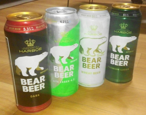 Bear Beer in South Korea from Denmark