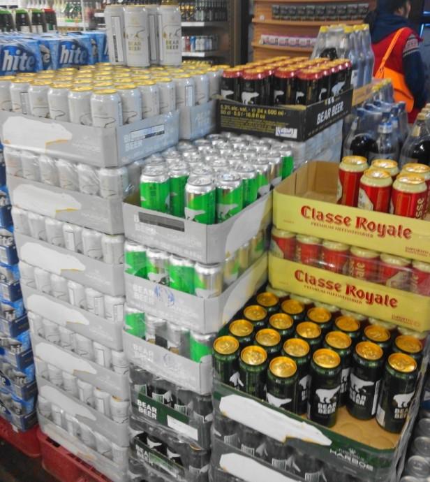 Bear Beer in South Korea - On Sale at Homeplus
