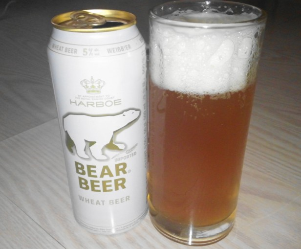 Bear Wheat Beer in South Korea