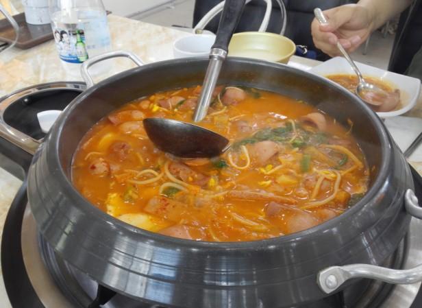Budaejjigae Cheongna Incheon Cooked