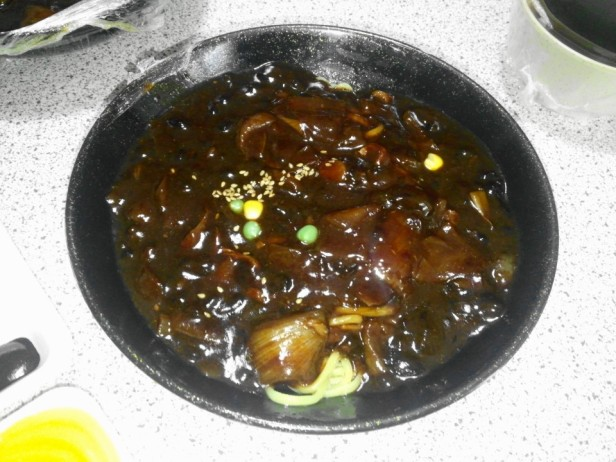 Chinese Delivery Food in South Korea Jajangmyeon