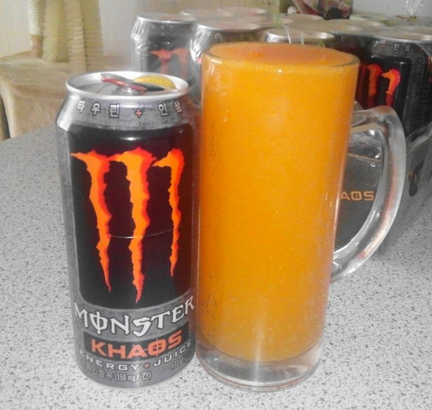 Energy Drink Korea Monster Khaos Juice
