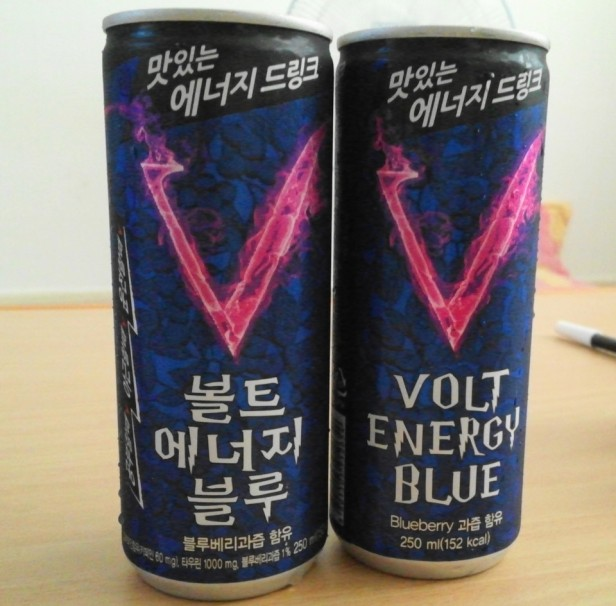 Energy Drink Korea Volt Energy Can