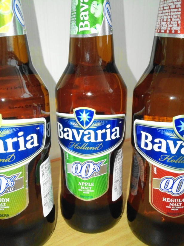 Imported Non-Alcoholic Beers bavaria apple