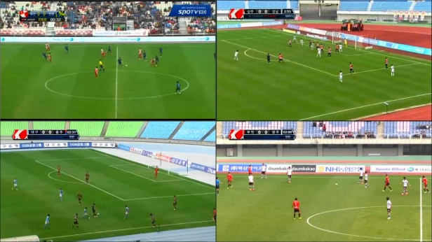 Naver's Picture in Picture Service. 4 Games at once :)