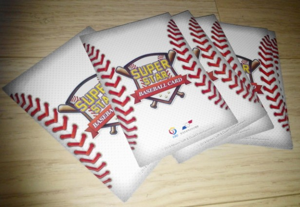 KBO Korean Baseball Cards 2014 Back
