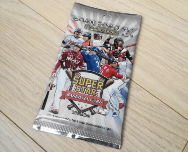 KBO Korean Baseball Cards 2014 Pack