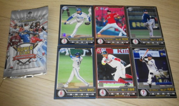 KBO Korean Baseball Cards 2014 Set