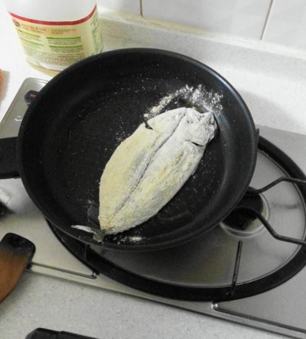Korean Style Mackerel fry