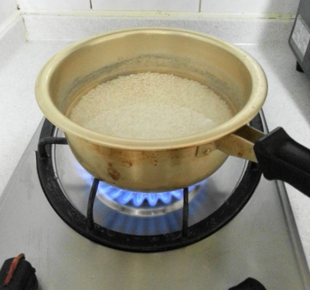 Korean Style Mackerel rice