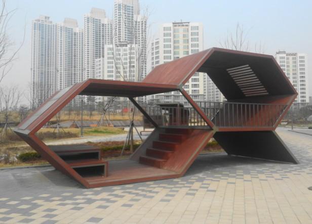 Modern Gazebo Cheongna Canal