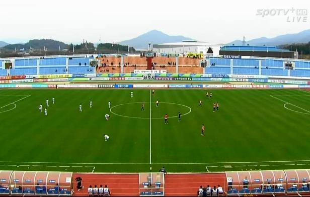 Sangju Sangmu vs. Seongnam FC Nov 2014