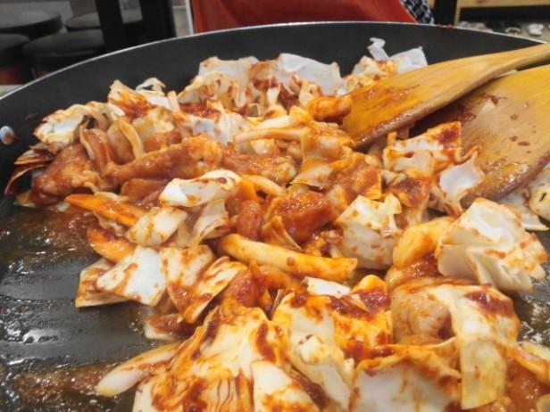 Cheongna Dak Galbi Cooking
