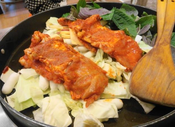 Cheongna Tak Galbi 2015 before cooking