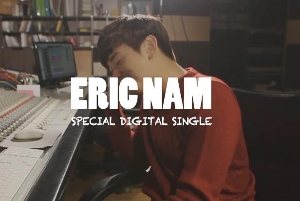 Eric Nam Melt My Heart - Banner 1