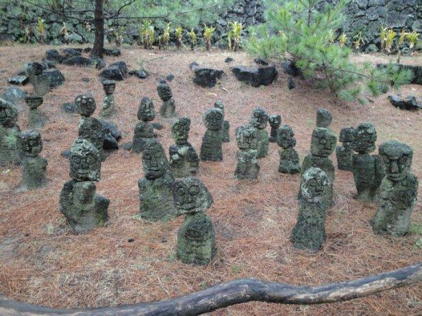 Jeju Island Garden of Stone Goblins