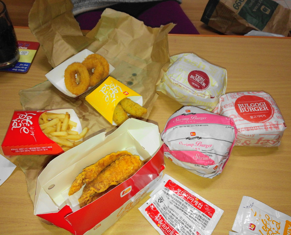 Lotteria Korea Home Delivery (Burgers and More) – Modern Seoul