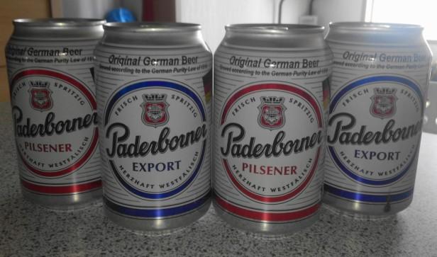 Paderborner German Beer 330ml cans