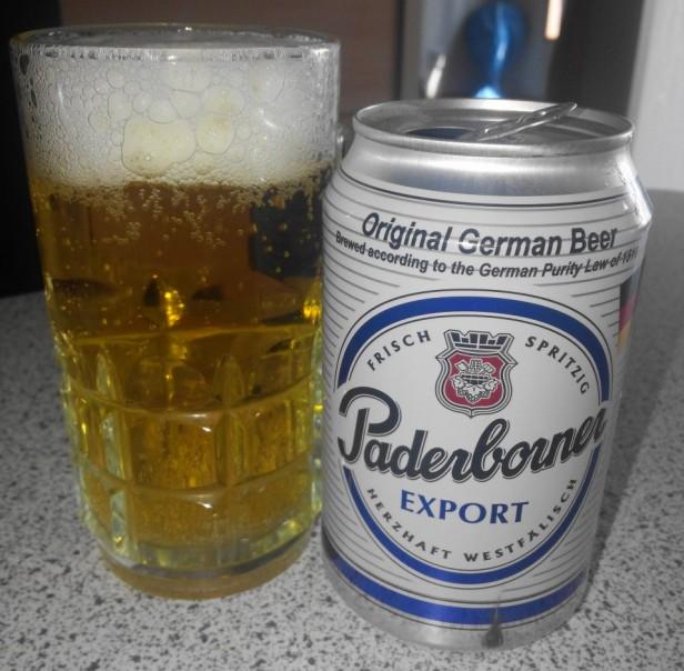 Paderborner German Beer export