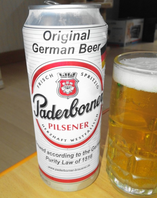 Paderborner German Beer Pilsener 500ml