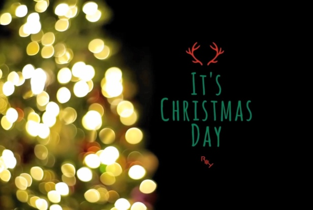 Roy Kim It's Christmas Day Banner