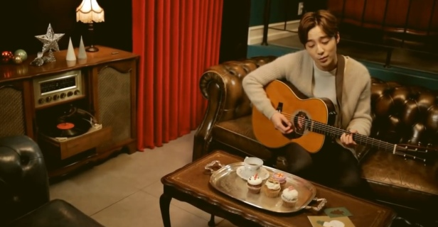 Roy Kim It's Christmas Day Living Room