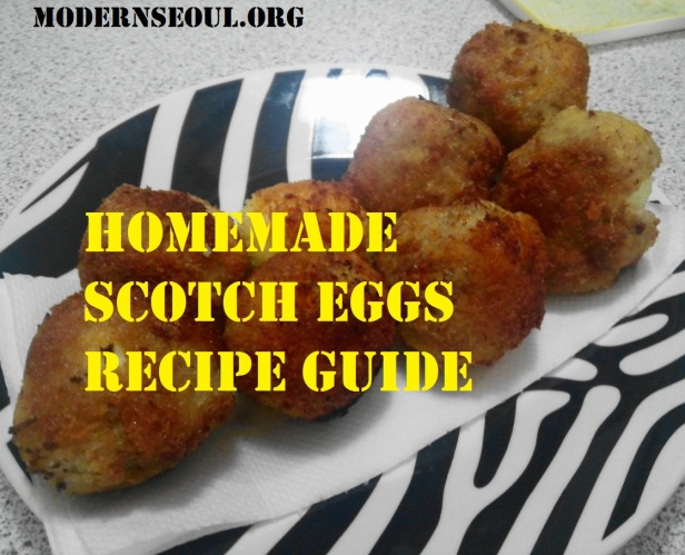 Scotch Eggs made in Korea Banner