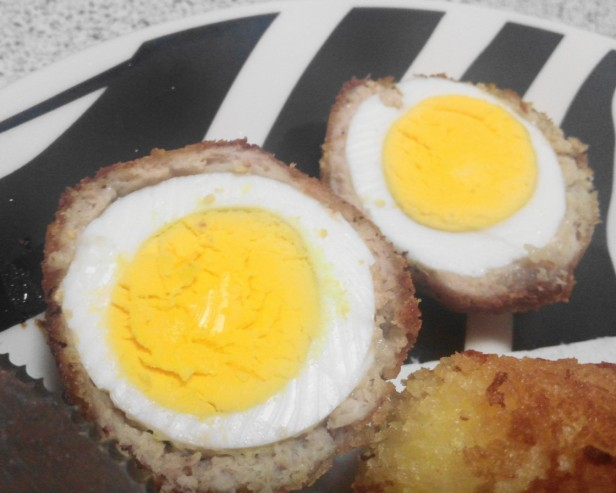 Scotch Eggs made in Korea Perfect Inside