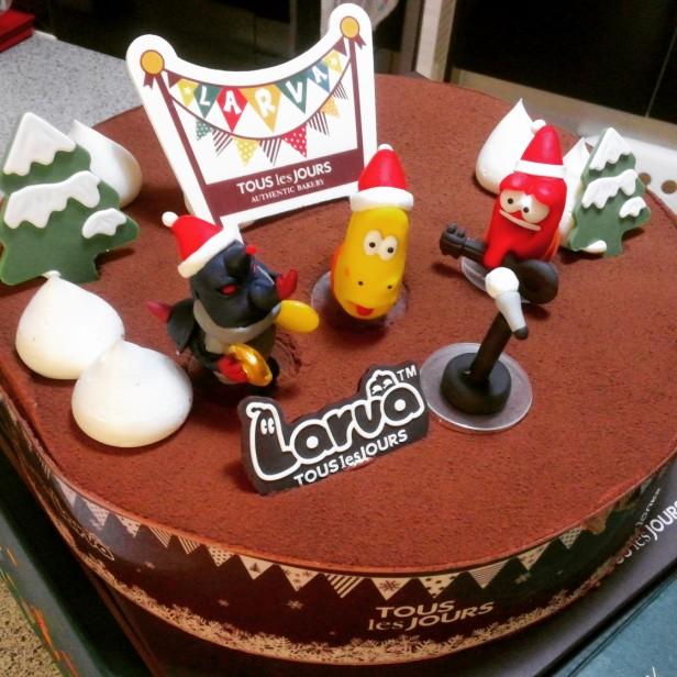 Tous Les Jours Christmas Cake 2014