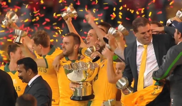 Australia Winners Asian Cup Final 2015