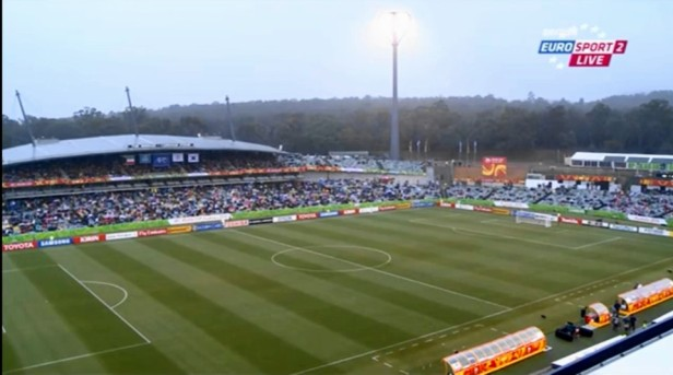 Canberra Stadium South Korea vs. Kuwait 2015