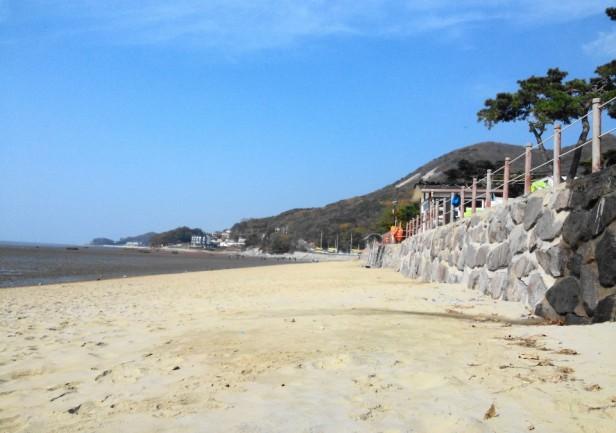 Dongmak Beach Ganghwa-do Sand