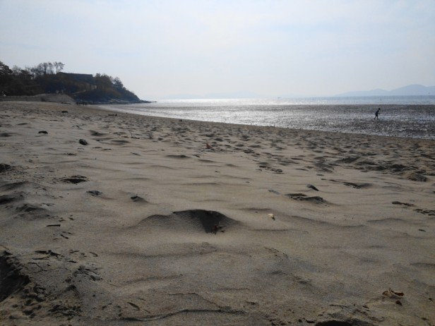 Dongmak Beach Ganghwa-do Soft Sand