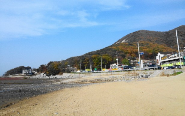 Dongmak Beach Ganghwa Incheon Sunny