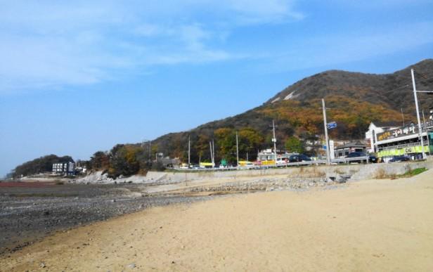Dongmak Beach Ganghwa Incheon Sunny