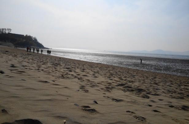 Dongmak Beach Ganghwa Island Incheon