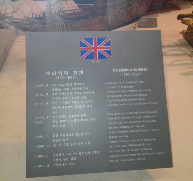 Early British and Korean Relations 1790s to 1890s