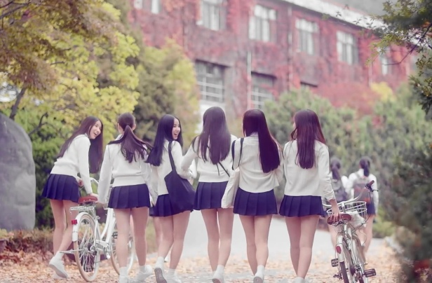 GFriend Glass Bead Outside School