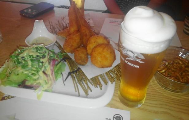 Izakaya Japanese Cheongna Incheon food beer