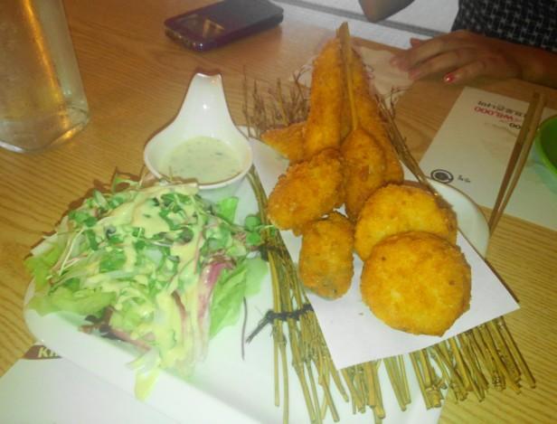 Izakaya Japanese Cheongna Incheon fried food