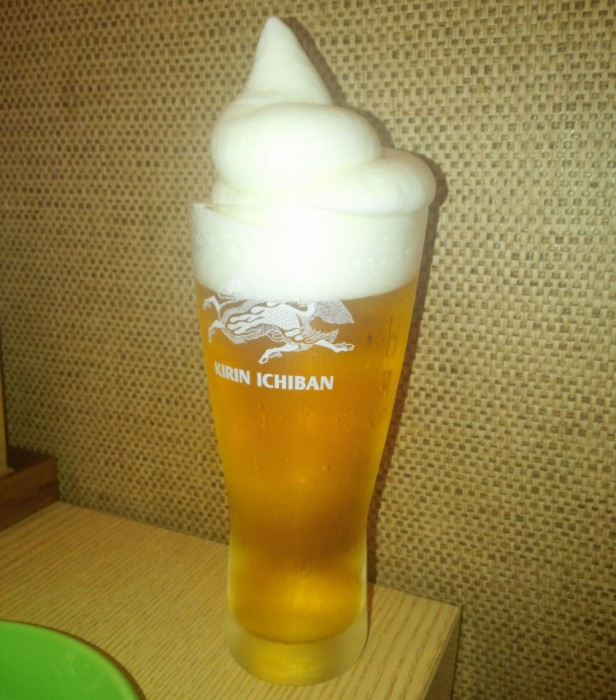 Izakaya Japanese Cheongna Incheon frozen beer