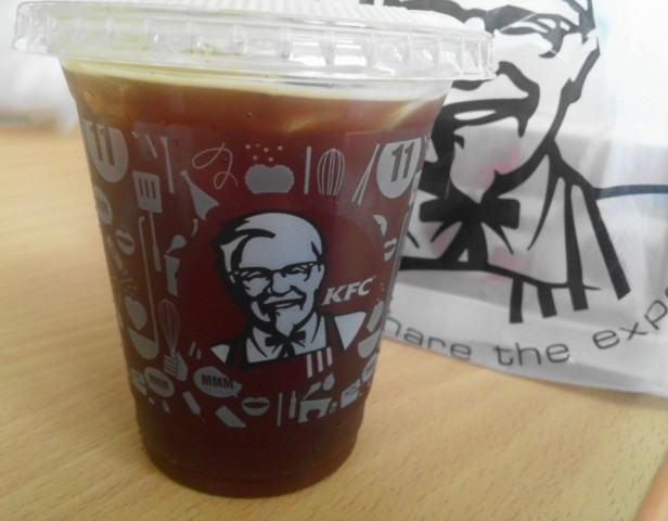 KFC South Korea Coffee