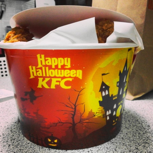 KFC South Korea Halloween Bucket
