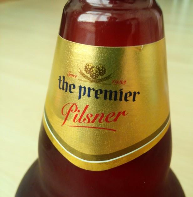 OB Pilsner Korean Beer pitcher