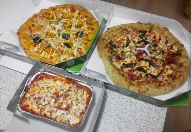 Pizza Maru South Korea Set