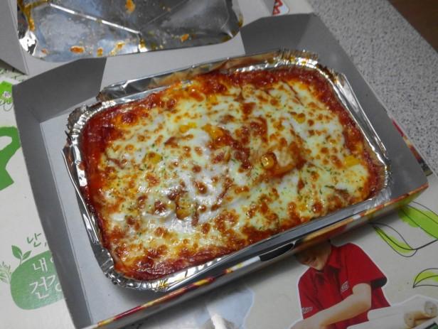 Pizza Maru South Korea spaghetti