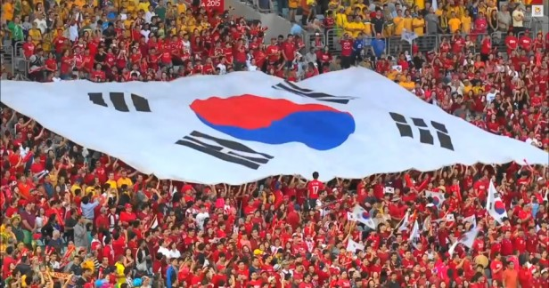 South Korea Flag Asian Cup Final 2015