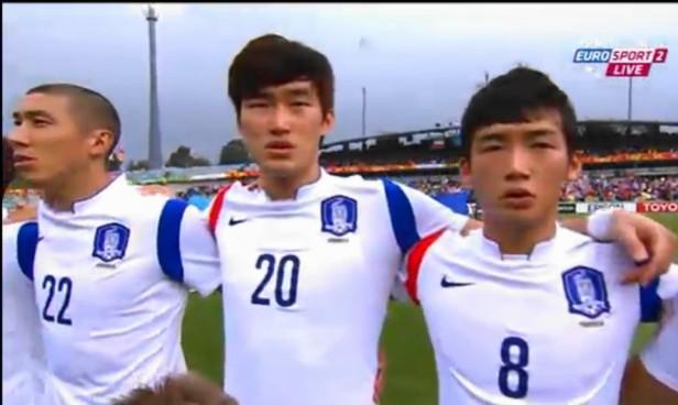 South Korea vs. Kuwait 2015 Before Kick Off