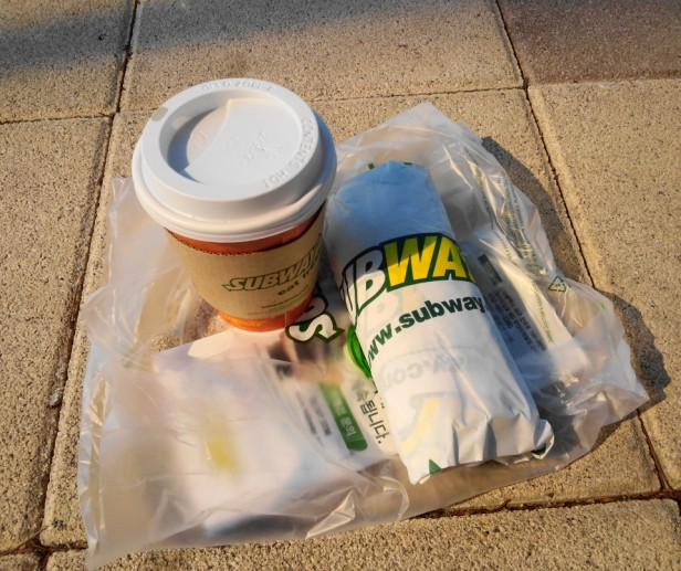 Subway Sandwich South Korea Coffee and Sandwich