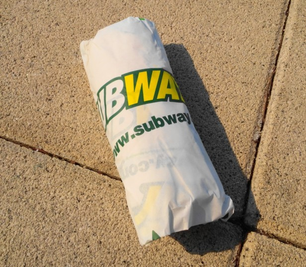 Subway Sandwich South Korea Wrapped